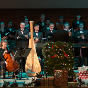 image from the 2016 Christmas Tapestry performance