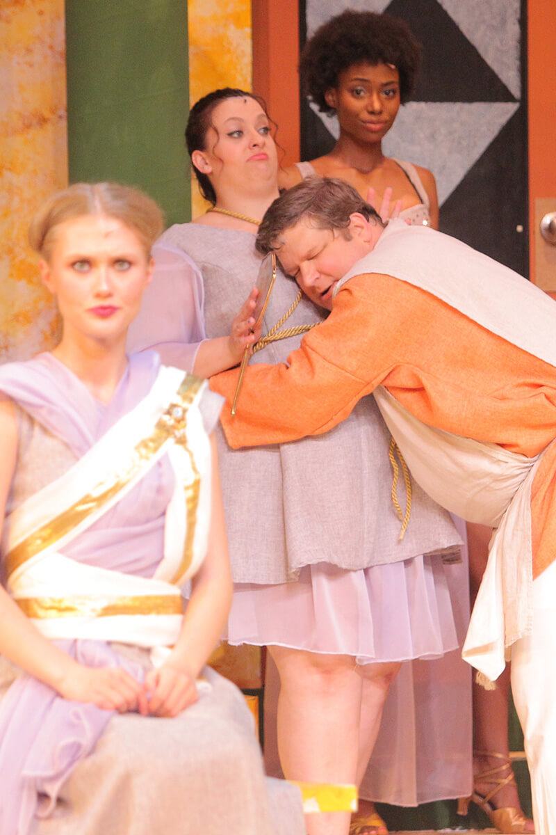 scene from A Funny Thing Happened on the Way to the Forum